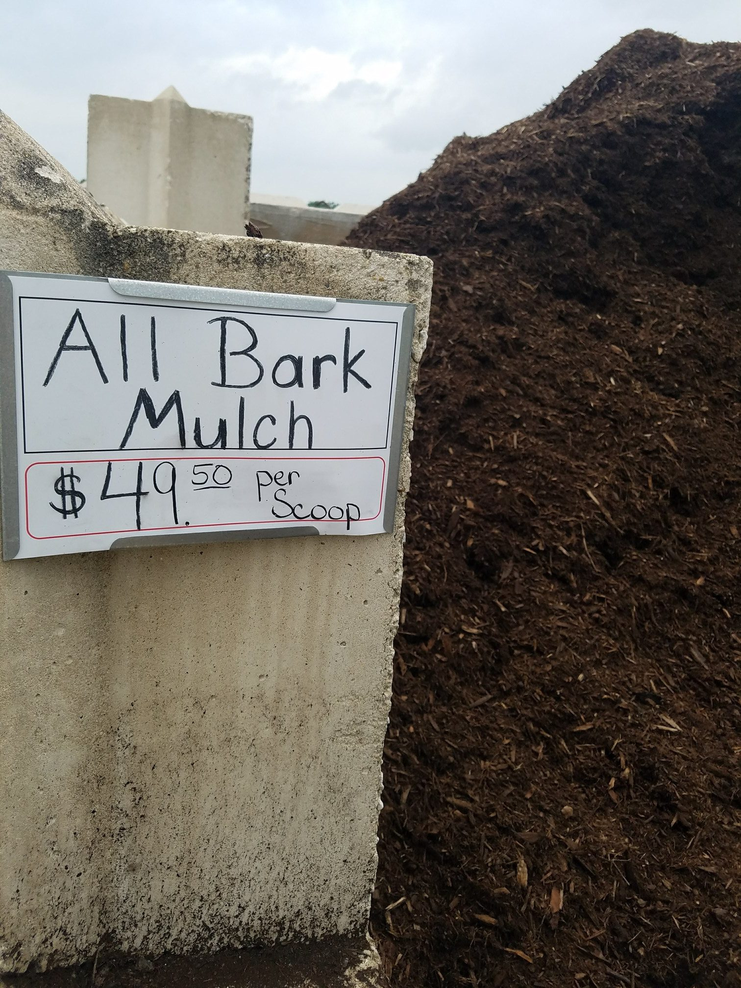Bulk Bark Mulch
